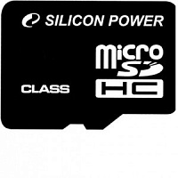 Карта памяти Silicon Power micro SDHC Card 4GB