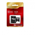 Silicon Power micro SDHC Card 16GB Class 10
