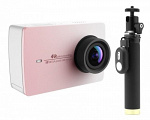 Xiaomi Yi 4k Action Camera Travel Edition Pink